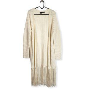 360 Cashmere Quincy Fringe Cardigan Cashmere Wool